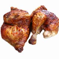 Medio pollo asado